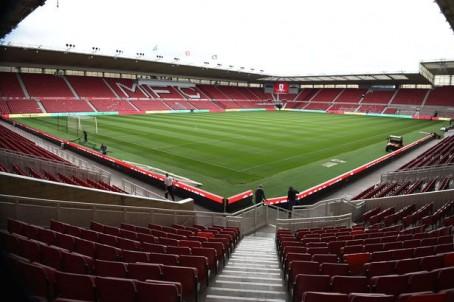 Middlesbrough FC's Riverside Stadium