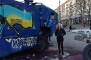 Melanie Wright in Ukraine