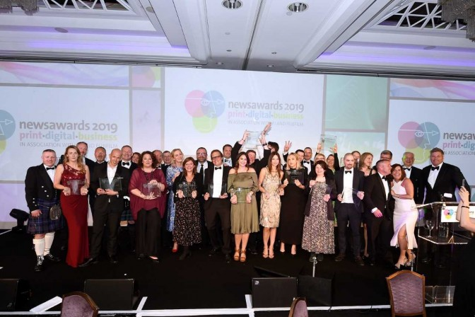 All the winners at last night's awards